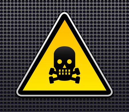 Danger sign vector Vector