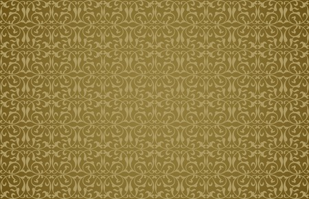 dirty carpet: Abstract background in the form of a pattern from decorative elements Illustration