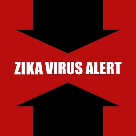 dengue: vector concept illustration Zika virus alert Illustration