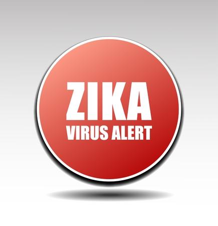 repellent: vector sign Zika virus alert