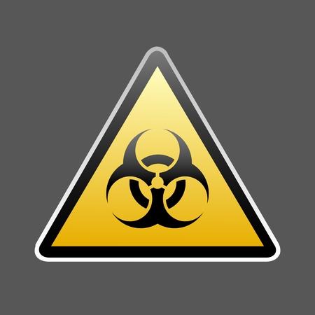 symbol: vector sign Zika virus alert