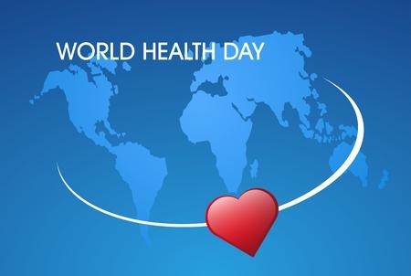 concept illustration World Health day