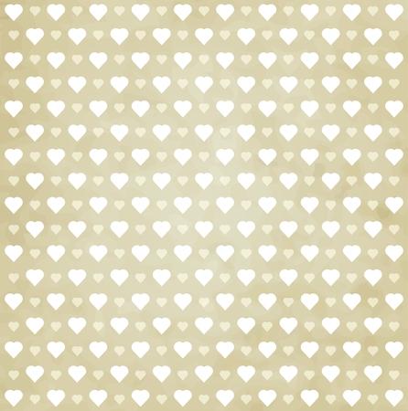 Herz-Muster Retro-Hintergrund