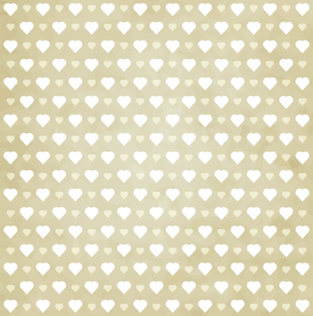 heart pattern retro background