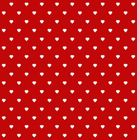 repeat texture: heart pattern seamless background Illustration