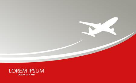 airplane: Airplane symbol vector design Illustration