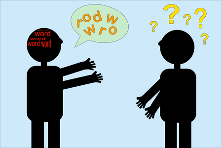 언어 장애 : 언어 치료가 필요할 때 일러스트