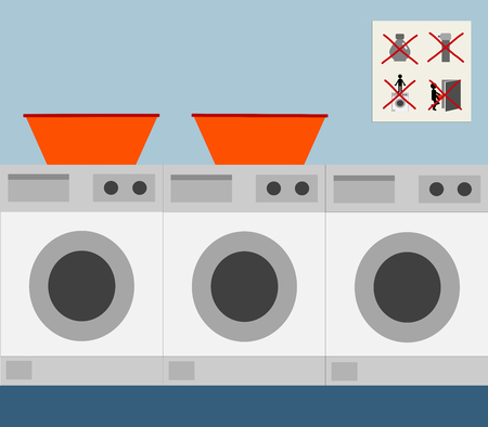 hamper: A coin laundry