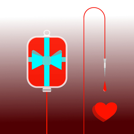 gift accident: Please give blood: transfusions save lives
