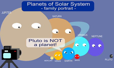 ironic: Pluto is NOT a planet!