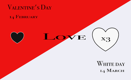 Valentines Day and White Day: triple the return