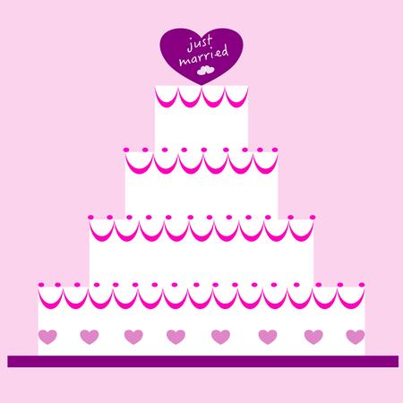 wedding cake: Wedding cake