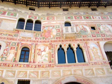 Painting Palace in Spilimbergo, Italy