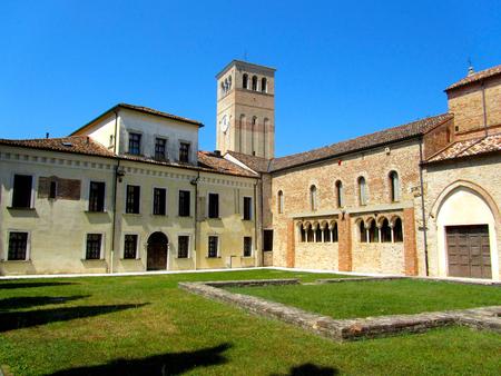 Sylvis, Sesto 알 Reghena, 이탈리아에서 산타 마리아의 수도원