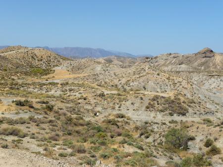 The desert of Cabo de Gata-Níjar Natural Park, Spain