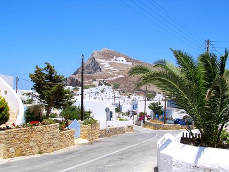 Hora, Folegandros island, Greece