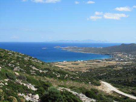 View of Antiparos island, Cyclades, Greece