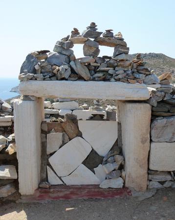Tomb of Homer, Ios, Greece