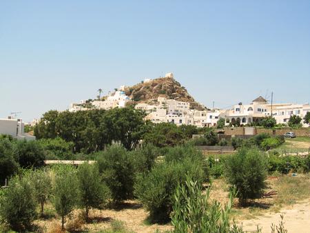 Chora town, Ios island, Cyclades, Greece
