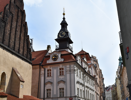 High Synagogue in Prague, Czech Republic Stock Photo - 94077954