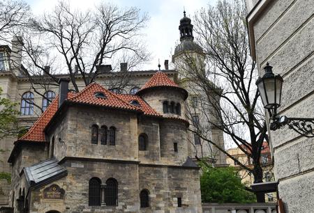Josefov or Jewish quarter of Prague in Czech Republic. Stock Photo - 94105446