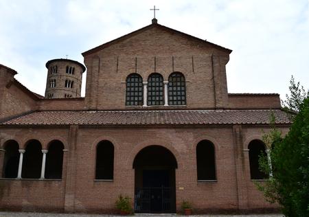 Basilica of Saint Apollinare in Classe, Classe (Ravenna), Italy Stock Photo