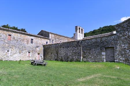 Convent of Saint Igne, San Leo, Italy Stock Photo