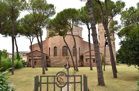 Basilica of Saint Apollinare in Classe, Classe (Ravenna), Italy Editorial
