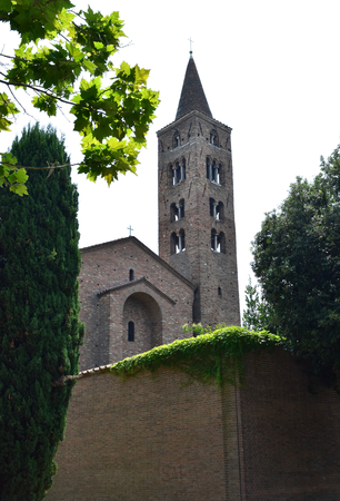 The Church of Saint John Evangelist, the most ancient of Ravenna, Italy