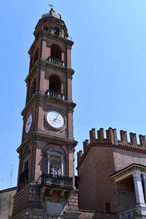 The Clock Tower, Faenza, Italy
