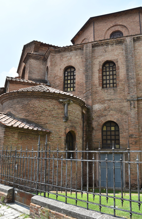 Basilica of San Vitale, Ravenna, Italy 免版税图像