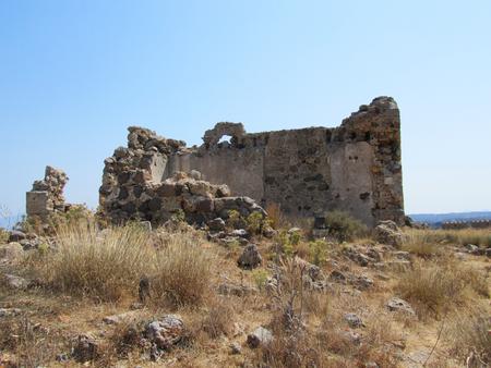 The Byzantine Antimachia Castle, Kos island, Greece Editorial
