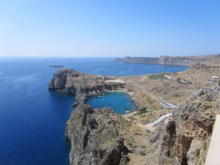 St Pauls Bay in Rhodes island, Greece