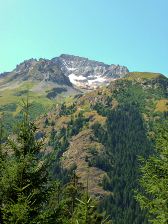 Mountains at Vanoise National Park, France
