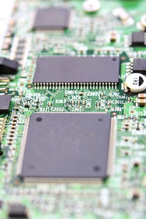 Green and black microprocessor