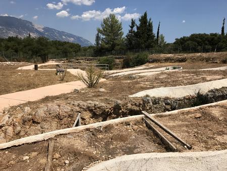 Ancient Mycenaean tomb in Cephalonia or Kefalonia in Greece