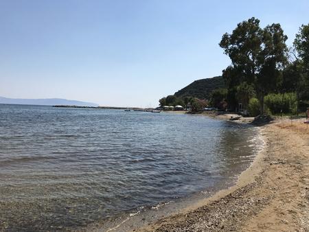 Katelios beach in Cephalonia or Kefalonia in Greece.
