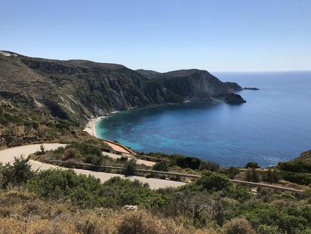 Petani bay in Cephalonia or Kefalonia in Greece