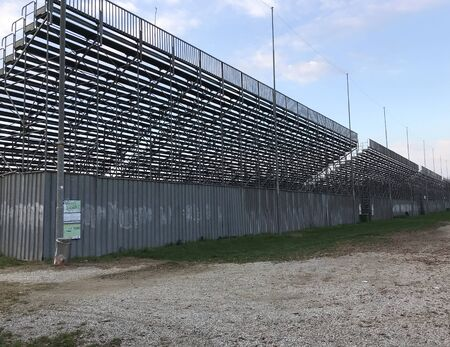 The bleachers Autodromo Nazionale Monza or Monza National Racetrack in Italy the third more older in the world, built in 1922.