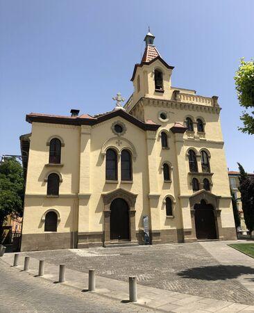 Church of San Fermín de Aldapa, Pamplona, Spain.