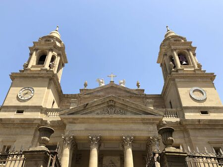 The cathedral of Pamplona, Spain.