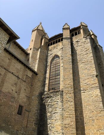 The cathedral of Pamplona, Spain