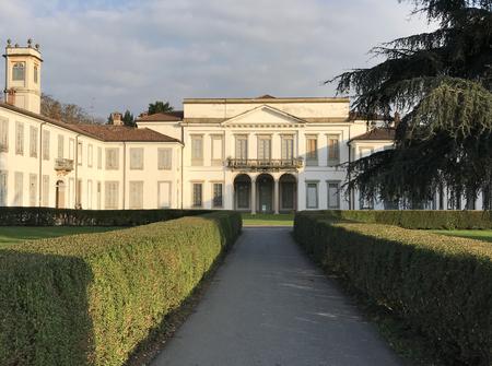 Mirabello Villa in the Monza Park in Italy. Sajtókép
