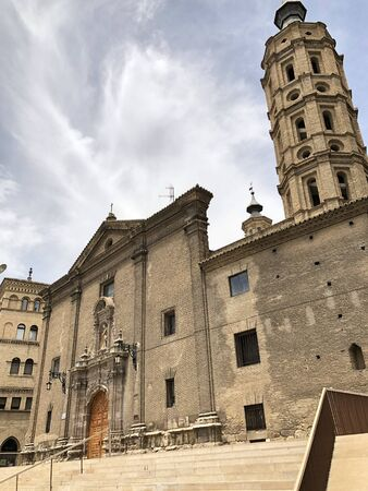 Church of de San Juan de los Panetes in Zaragoza, in Aragon, Spain Stock Photo