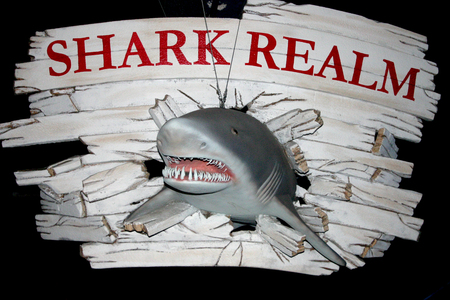 New Jersey and Philadelphia, Oceanarium, Kembdone - Shark Label