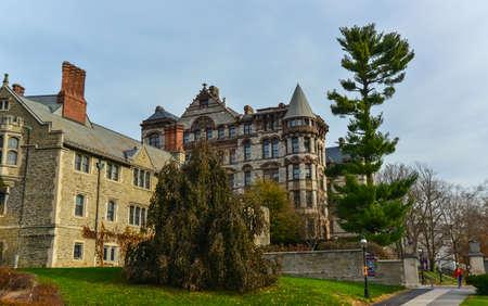PRINCETON, NJ USA - NOVENBER 12, 2019: Ivy League College Building, Princeton University, NJ USA Éditoriale