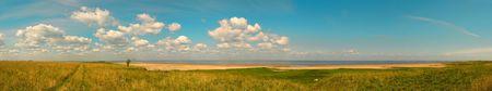 coastline panorama photo