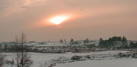 lanscape: winter lanscape