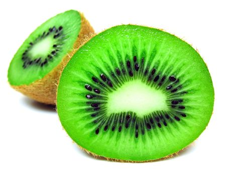 cathartic: Kiwi over white