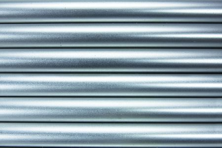 specular: aluminium tubes background